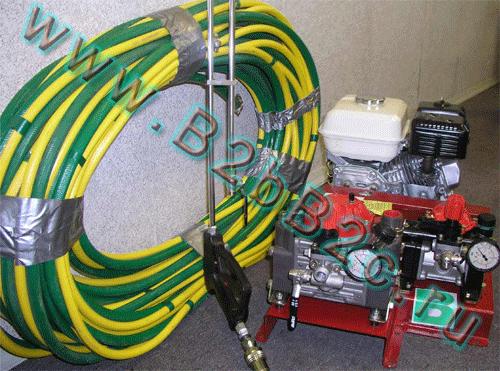 Оборудование напыления жидкой резины из Канады