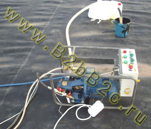 Жидкая резина оборудование НСТ RX-27